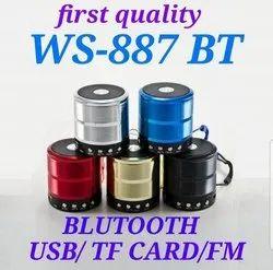 Mini Bluetooth Speaker with FM Radio, Memory Card Slot, USB Pen Drive Slot, AUX Input Mode