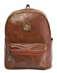 Girls Plain Backpack