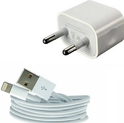 A-One Retail WallFor Apple Iphone 5  5s 6 6s And 7 Power Adapter