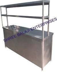 Service Counter with Hot Pot Bain Marie