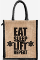Printed Jute Bag, Capacity: 3kg