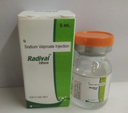 Sodium Valproate 100mg/ml Injections (RADIVAL INJ)