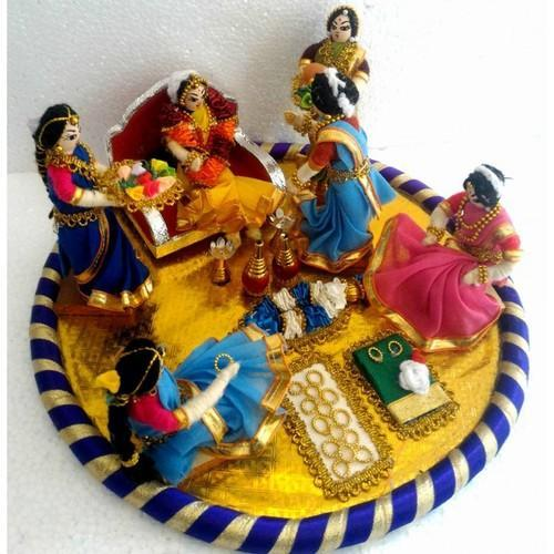 Festivals Seemandham Hand Made Doll Set Manufacturer