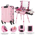 Makeup Trolley With Light