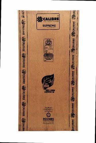 Calibre Supreme 100% Calibrated Commercial MR Eucalyptus Core Plywood, Thickness: 16 mm