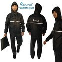 Raincraft Black and Blue Calisto Rain Suit