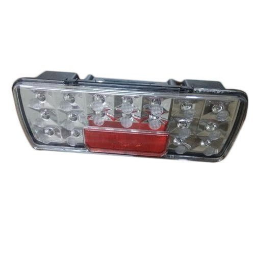 Abs Plastic With Acrylic Glass Bharat Benz LED Tail Light, 10-12w