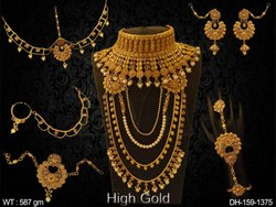 Kundan Jewellery Dulhan Set