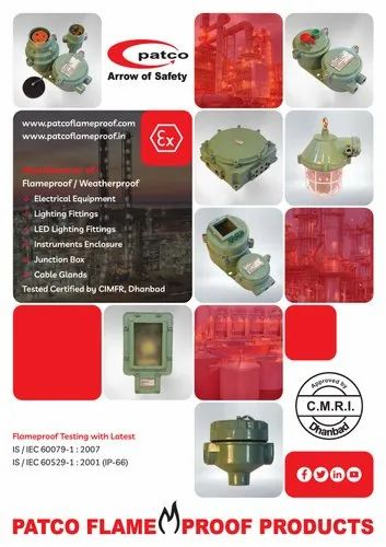 FLAMEPROOF ELECTRICAL PRODUCTS
