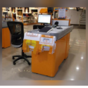 Retail Store Checkout Counter