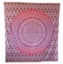 Cotton Wall Hanging Tapestry Hippies Bedspread Throw