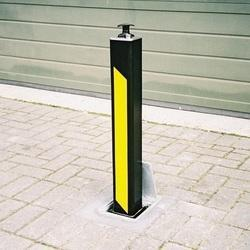 Telescoping bollards