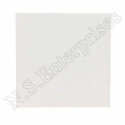 White Ceramic Sublimation Tiles, Size: Small