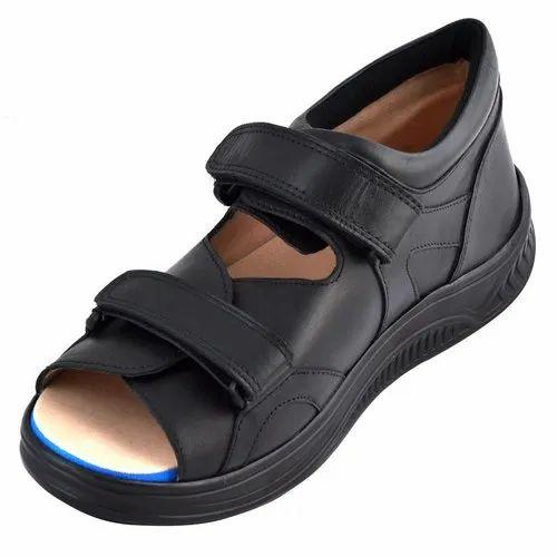Micro Cellular Rubber Black Diabetic Footwear Rs 1650 Pair