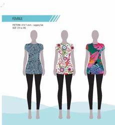 OCEANO NX Straight Fit T-shirt - Legging Set