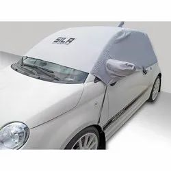 White Polyester Weather Proof Car Cover, Packaging Type: Packet