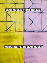 Muslin Print Garment Fabric