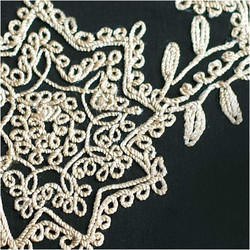 Machine Embroidery Dori Work