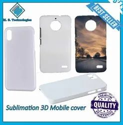 3d sublimation black mobile cover