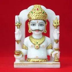 Marble Nakoda Bhairav Statue