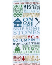 Multi Color Printed Cotton Tea Towel