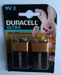 9V Duracell Alkaline Battery