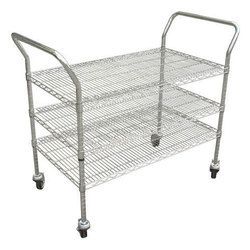 ESD Safe Stainless Steel Trolley