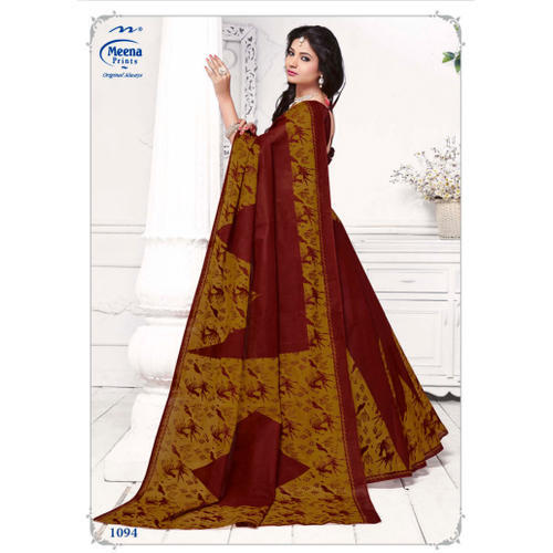 0a76c4f0e Casual Wear Ladies Cotton Saree