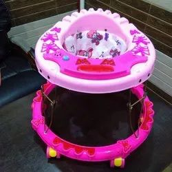 Butterfly musical Walker with plastic ring