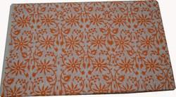 Hand Block Printed Cotton Fabric Sanganeri