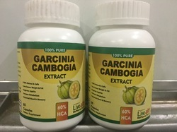 Garcinia Cambogia Extract Supplement 500mg, For Commercial, Packaging Size: 60 Capsules