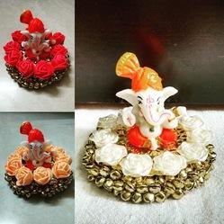 Flower Ganapati