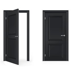 Hinged Sintex PVC Door