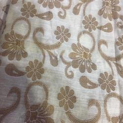 Cotton Silk Jacquard Fabric, Width: 44-45 inch