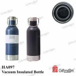 Giftmart Black & Blue HA097 Vacuum Insulated Bottle, Packaging Type: Box, Capacity: 750 Ml