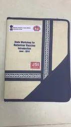 Jute Cotton Conference Folder For Offices