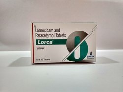 Lornoxicam and Paracetamol Tablets