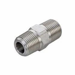 Stainless Steel Hex Nipple 316 L