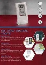 See Thru Digital Clock - Giftana