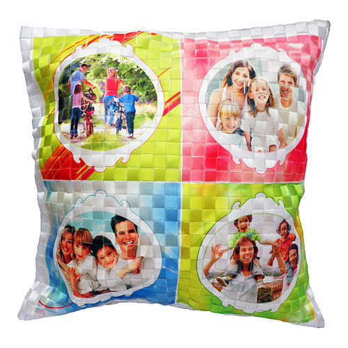 Printed multiple image pillow cushion decorative gift item