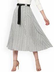White Black Skirts