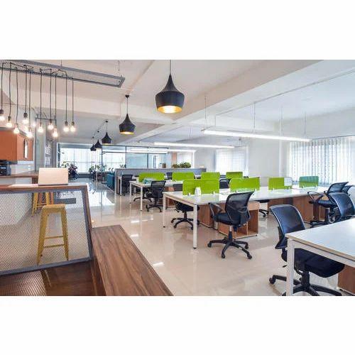 Interior Designing Services: Office Workstation Interior Designing Services In Thane