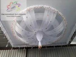 White Shamiyana Ceiling