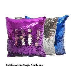 Sublimation Mermaid Sequin Pillow - Sublimation Magic Cushion