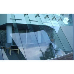 Toughened Glass Glazing Service, Dimension/Size: 500 - 1000 sq.ft