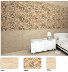 4002 (L, H, LF) Hexa Ceramic Digital Wall Tiles