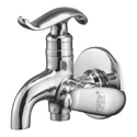 Brass Silver Water Tap And Shower
