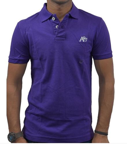ca950201 Plain Aeropostale Men's POLO T- Shirt Indigo, Rs 2221 /piece | ID ...