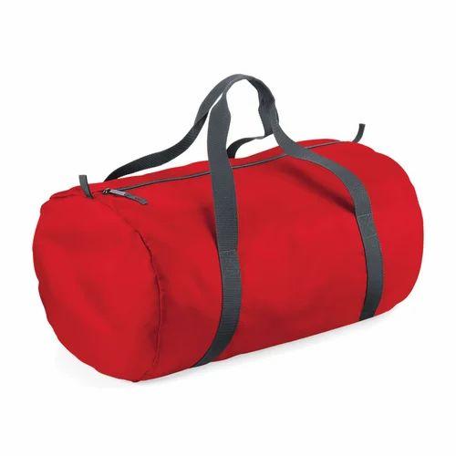 a9add515eb Multicolor Custom Canvas Duffle Bag
