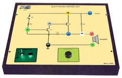 Electronic Morse Key with Audio & Visual Indicator